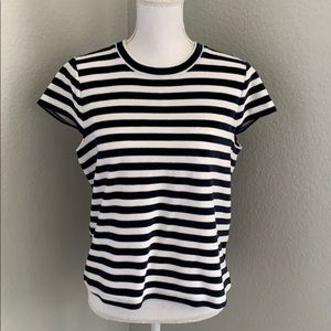 Madewell Terrycloth Striped Shirt